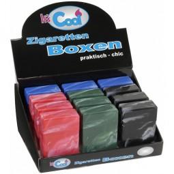 Zigarettenbox Kunststoff Marmoriert