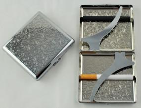 Zigarettenetui 20er mit Clip Metall