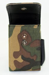 Canvas Etui für King Size und 100mm Camouflagedesign