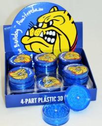 4-Part Plastik 3D Grinder