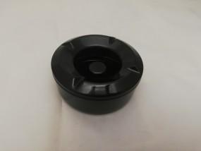Windascher Melamin rund schwarz 10,5cm