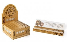 Bulldog KS rolling Paper Brown